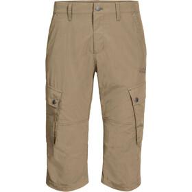 Jack Wolfskin Desert Valley Pantalon 3/4 Homme, sand dune